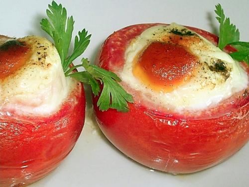 Фаршированные помидоры из духовки