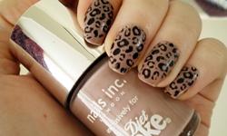 Модный маникюр на выпускной 2013: маникюр - леопард