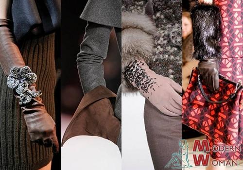 Модные перчатки 2013