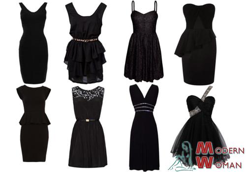 Как сшить маленькое черное платье своими руками фото