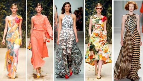 Модные тренды лета 2014 платья и сарафаны