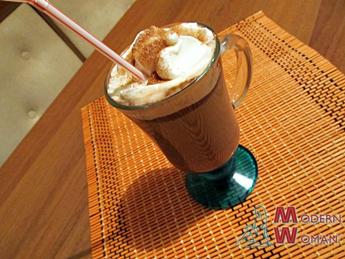 Шоколадно - кофейный напиток