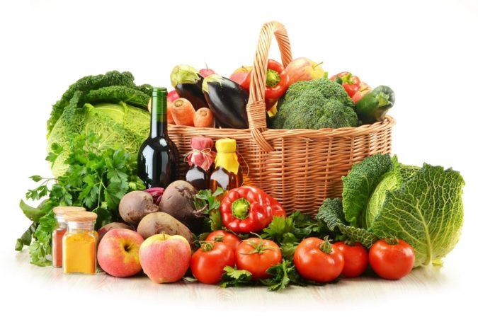 Диета для похудения с овощами