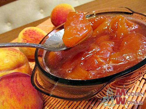 Домашнее варенье из персиков