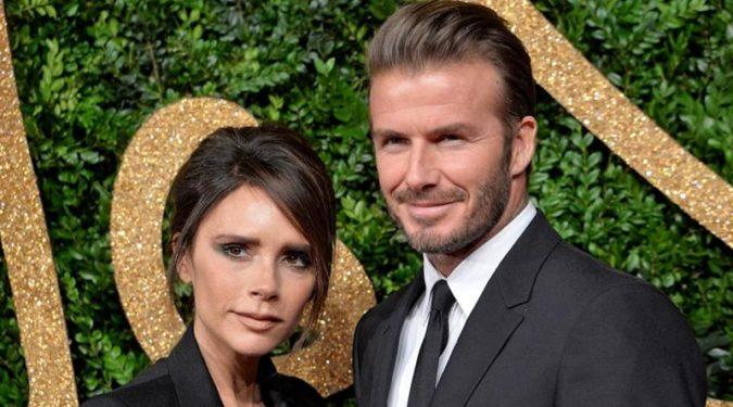 Дэвид и Виктория Бекхэм празднуют годовщину свадьбы