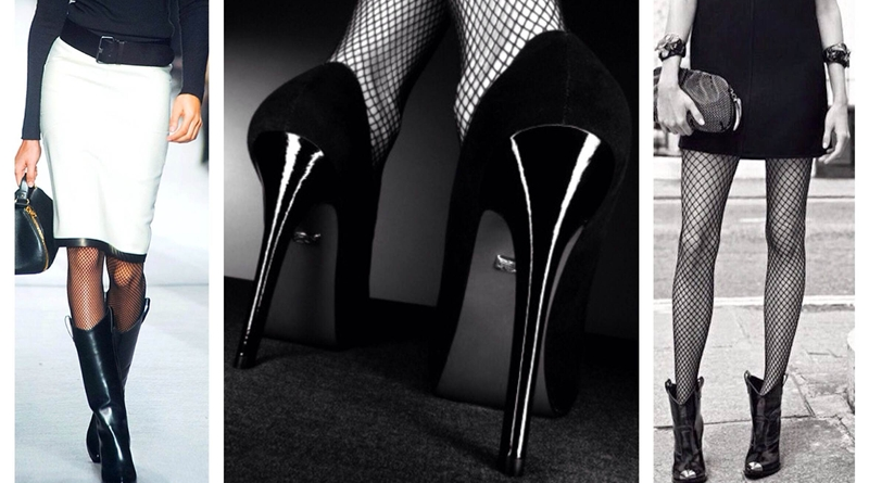 Фантазийные колготки с чем их носить