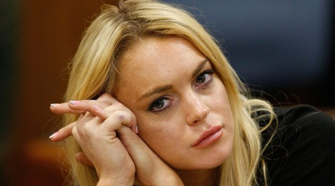Линдси Лохан грозит банкротство