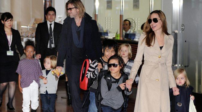 Анджелине Джоли откажут в полной опеке над детьми