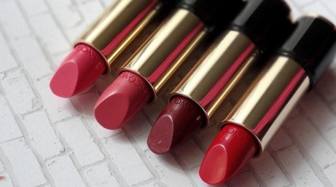 Новая коллекция помад Lancôme: L'Absolu Rouge