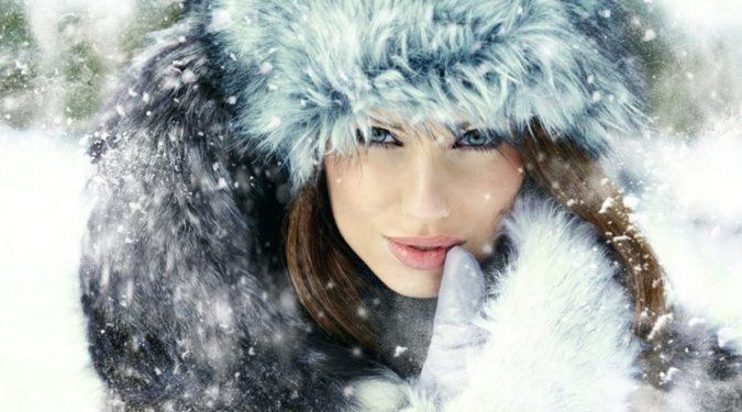 Зимняя косметика или как ухаживать за кожей в мороз