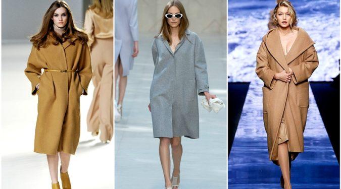 Стильные пальто на осень 2017