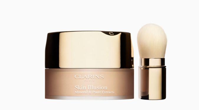 Новая рассыпчатая пудра Clarins: Skin Illusion