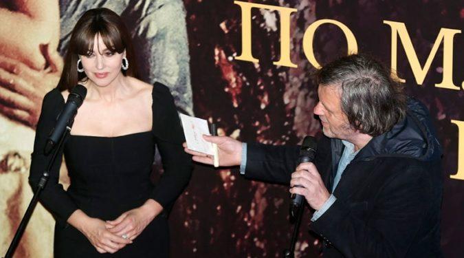 Моника Беллуччи представила в России новый фильм