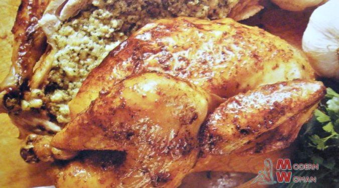 Цыпленок в духовке с гречкой рецепт пошагово