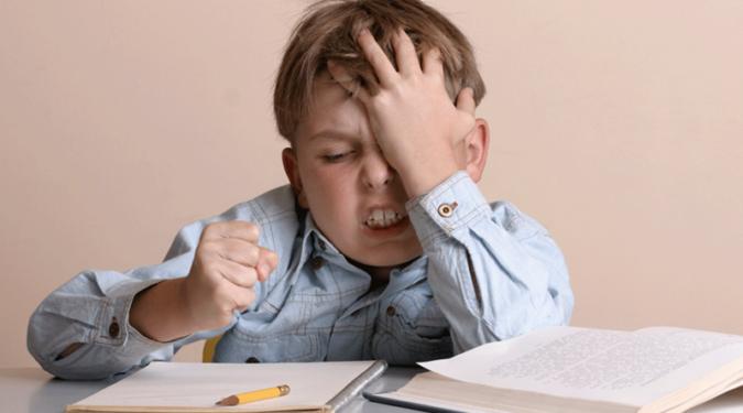 Негативные эмоции по отношению к школе