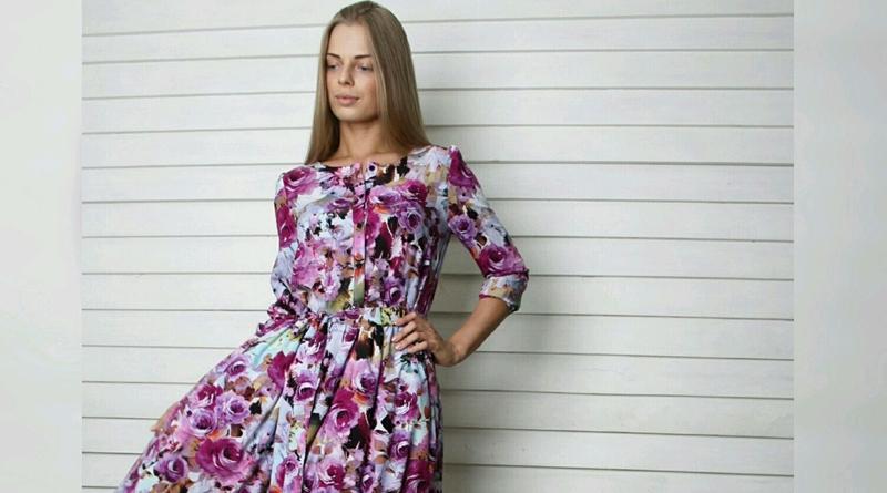 Весенние платья 2017