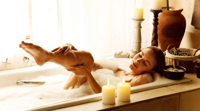 Домашнее спа – полезная ванна
