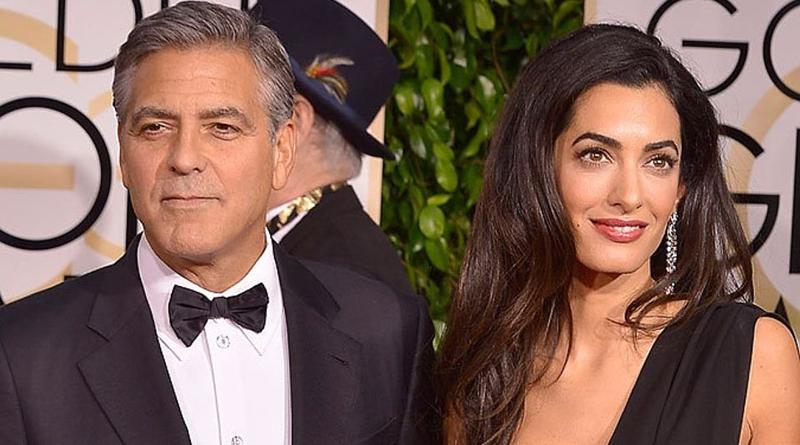Джордж Клуни впервые стал отцом