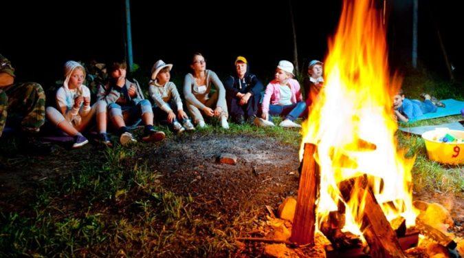 Летний отдых детей в лагере