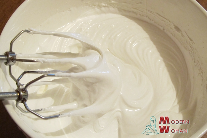 Белково масляный крем для украшения